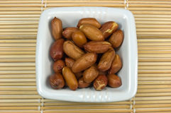 Redskin peanuts Royalty Free Stock Photo