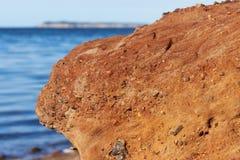 Redstone na pele da ilha Imagem de Stock Royalty Free