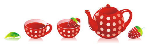 RedTeaSet Stock Images