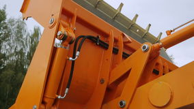 Redução da cubeta do ` s da máquina escavadora filme