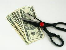Reducción de la renta Imagen de archivo libre de regalías
