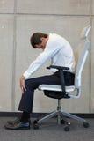 Reducción del estrés del trabajo de oficina Fotografía de archivo