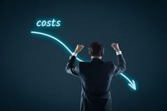 Reducción de costes Imagenes de archivo
