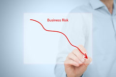 Reduce business risk Stock Photo