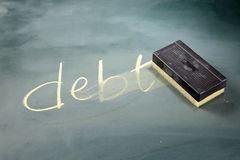 Reduce the debt Royalty Free Stock Photos