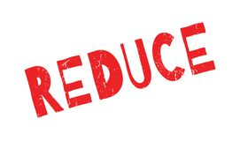 Reduce rubber stamp Royalty Free Stock Photo