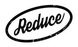 Reduce rubber stamp Stock Photo