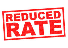 REDUCED RATE Royalty Free Stock Image