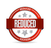 Reduced seal illustration design Royalty Free Stock Photography