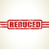 Reduced stamp set Royalty Free Stock Photos