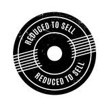 Reduced To Sell rubber stamp Stock Photos