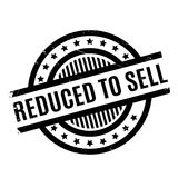 Reduced To Sell rubber stamp Stock Photo
