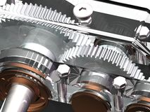 Reduction gear Stock Photography