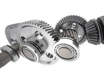 Reduction gears Royalty Free Stock Photos