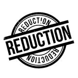 Reduction rubber stamp Stock Photo