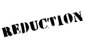 Reduction rubber stamp Royalty Free Stock Image