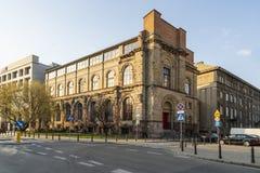Redutabank van Polen in Warshau royalty-vrije stock afbeeldingen