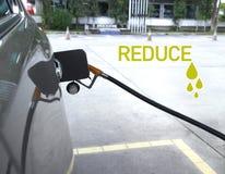 Reduza o óleo, borrão Foto de Stock Royalty Free