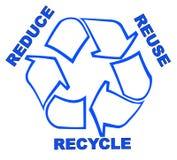 Reduzca la reutilización reciclan Foto de archivo