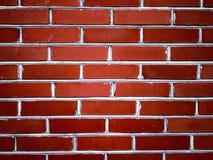 redvägg för tegelstenar ii Royaltyfri Fotografi