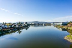 Redwood brzeg laguna, San Francisco zatoki teren, Kalifornia zdjęcia stock