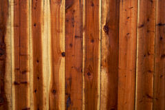 Redwood Fence Background 2 Royalty Free Stock Images