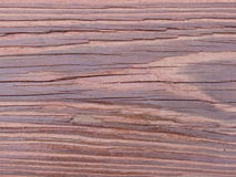 Redwood grain. Raised grain on redwood plank Stock Images