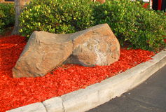 Redwood Mulch Royalty Free Stock Photos