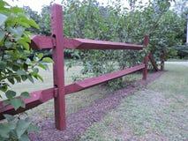 Redwood ogrodzenie Obraz Royalty Free