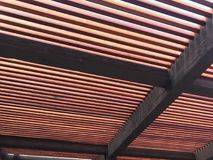 Redwood Trellis Royalty Free Stock Photography