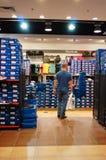 Reebok-Einzelhandelgeschäft Lizenzfreies Stockfoto