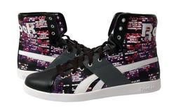 reebok shoes sporten royaltyfri foto
