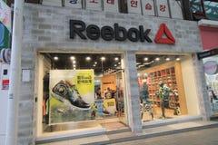 Reebok shop in South Korea Royalty Free Stock Image