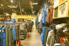 Reebok shoppar arkivbilder