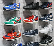 Reebok Sports shop in Moscow Royalty Free Stock Photo
