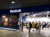 Reebok store Stock Images