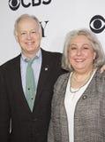 Reed Birney e Jayne Houdyshell Foto de Stock