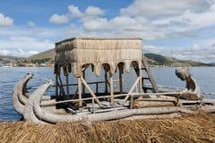 Reed Boat Royalty Free Stock Photos