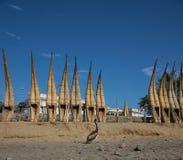 Reed Boats Fotografía de archivo libre de regalías