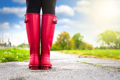 Reed boots Royalty Free Stock Photo