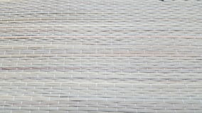 Reed carpet. The carpet made from dried reed Royalty Free Stock Image