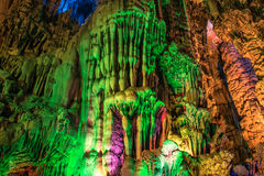 Reed Flute Cave Fotos de archivo libres de regalías