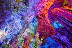 Reed Flute Cave em Guilin, China Fotografia de Stock