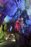 Reed flute cave guilin Royalty Free Stock Images