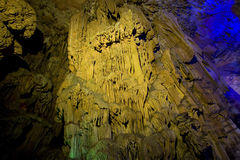 The reed flute cave guilin guangxi. China stock photos