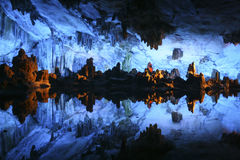 Reed Flute Cave (Lu Di Yan) Stock Photos