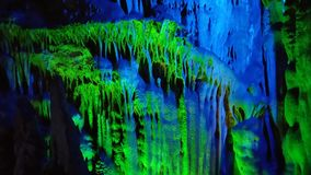 Reed Flute Caves Stock Photo