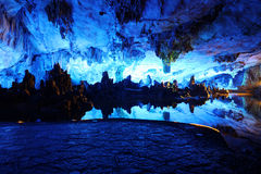 Reed Flute Caves in Guilin Stock Photography