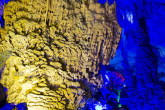 Reed Flute Caves in Guilin, China Royalty Free Stock Photos