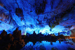 Reed Flute Caves in Guilin, China Stock Photography